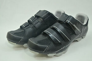Specialized Riata MTB Cycling Shoes Womens Black Silver 6112-4642 Size 10.5