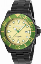 Invicta Pro Diver 90298 Men's Round Olive Analog Date Stainless Steel Watch