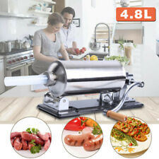 48l Manual Sausage Stuffer Maker Meat Filler Machine For Home And Commercial