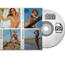 Sammlung 4x HUMANA FKK Nudism Natur Akt Magazine Nr. 10/14/29/SA - eBook PDF