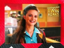 Twin Peaks Gold Box postcard Annie Blackburn Heather Graham #56 Mint condition