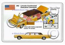 CORGI TOYS 262 LINCOLN CONTINETAL LIMOUSINE ADVERT ART NEW JUMBO FRIDGE  MAGNET