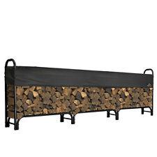 Shelter Logic 12' Heavy Duty Firewood Rack w/ Cover