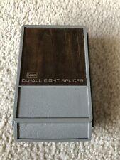 Vintage Sears Du-All Eight Tape splicer 8 Illuminated Film Movie Splicer