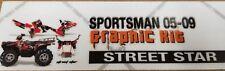AMR Graphic Kit Decal SALE - Polaris Sportsman 05-09 - Street Star
