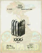 Cigar Patent Poster Art Print Humidor Box Shops Cuban Lighter Ashtray PAT91