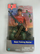 "GI JOE Basic Training Marine 12"" Figure - NEW IN BOX! Hasbro (2001)"
