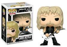 Funko Pop Rocks Metallica James Hetfield Boneco De Vinil #57 Novo Na Caixa