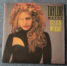 Taylor Dayne, tell it to my heart / instrumental, SP - 45 tours