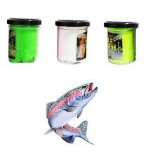 kit 3 pastelle da pesca trota lago pasta esca per trote con feromoni gara