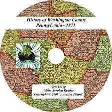 1871 History of WASHINGTON County Pennsylvania PA - Ancestry Family