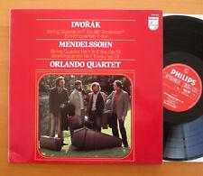 Philips 9500 995 Dvorak Mendelssohn Quartets Orlando Quartet NM/VG Stereo