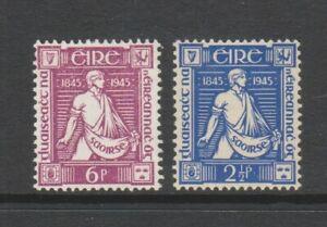 Ireland - 1945, Thomas Davis set - m/m - SG 136/7