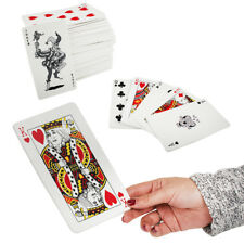 Super Big Gigantic Giant King A4 Jumbo Extra Large Playing Cards 28cm 11 Inches
