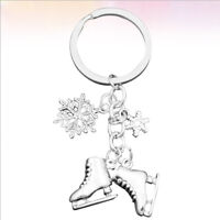 Skates Snow Key Rings Creative Keychain Bag Hanging Ornament Keychain Pendant