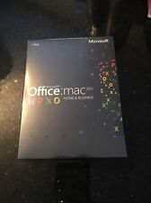 Microsoft Office Mac Home & Business 2011 Full Version W6F-00198 NEW SEALED