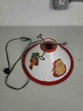 1960's Vintage Lighted (working) Santa Claus Christmas Tree Stand