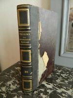 Histoire Della Revolution Francaise 1/10 Thiers Volume 10 Po' di Tempo 1843