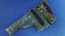 Fondina pistola BERETTA 92 su misura in JEANS per CARABINIERI POLIZIA FINANZA