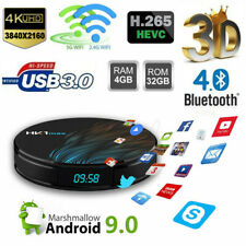 Smart Amlogic S905X2 4G 32G 2.4G&5.8G Wifi 4K 2160P 3D H.265 TV BOX Android 8.1