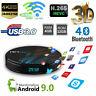 TV BOX Android 8.1 Smart Amlogic S905X2 4G+32G 2.4G&5.8G Wifi 4K 2160P 3D H.265