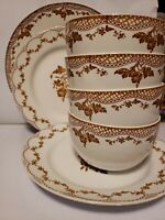 10-PIECE Martha Stewart Collection Sepia Dinnerware Set 2 Dinner 4 Salad 4 Bowls