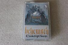 Behemoth - Evangelion LTD Navy Blue MC KASETA  - POLISH RELEASE