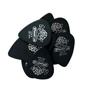 Dunlop Guitar Picks  Tortex  Pitch Black  12 Pack Standard  .50mm  488P.50
