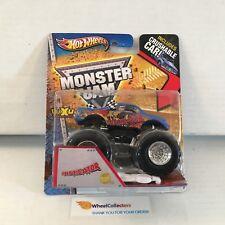 #6  Instigator * Hot Wheels Monster Jam w/ Crushable Car * K1