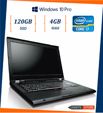 """pc portatile notebook usato ricondizionato RAM 4GB SSD 120GB Lenovo T420s i7 14"""""""