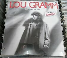 LOU GRAM ( FOREIGNER ) READY OR NOT SEALED MEXICAN VINYL CUT OUT ON COVER