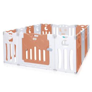 Baby Vivo Box Bambini Recinto Cancelletto Protezione Sicurezza Pieghevole Giochi