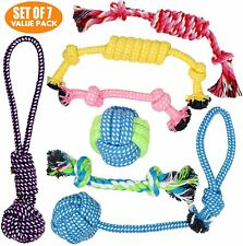 New listing Puppy Toys & Dog Toys for Small Dogs - Fetch Toys and Chew Toys, Set of 7 Value