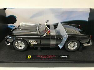1/18 Hotwheels Elite Ferrari 250 California Spider SWB Black Limited Edition
