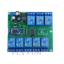 8 Channel Relay Module Bluetooth 4.0 BLE 8ch Relay for Apple Android Phone IOT