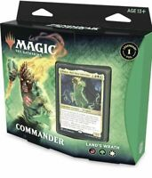MTG Zendikar Rising Land's Wrath Commander Deck SEALED New Magic IN STOCK