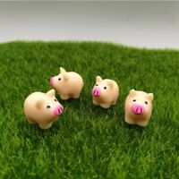 2017 Small Pigs Ornaments Figurines Statues Resin cute piglets gifts new