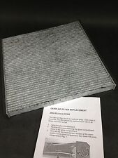 New Carbon Cabin Air Filter w/ Instructions For Toyota 87139-06030 Free Shipping