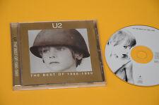 CD (NO LP ) ORIG 1998 CON LIBRETTO U2 BEST OF 1980-1990 EX+