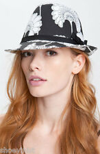 Kate Spade New York Japanese Floral Fedora Hat