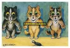rp10188 - Louis Wain Cats - Help - photograph 6x4