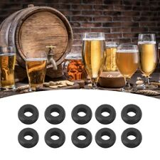 10x Food Grade Airlock Grommets Airlock Ring for Home Brew Fermenter Lid Grommet
