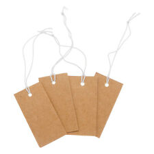 1000pcs Labels Tie String Strung Price Tickets Jewelry Watch Cloth Display Tags