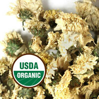 Chrysanthemum Flowers - Organic, dried FREE SHIP (Chrys. morifolium) 1oz - 16oz