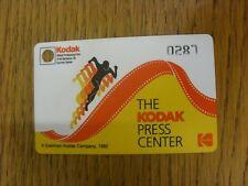 Billete De 1992: Juegos Olímpicos-Barcelona 1992, el centro de prensa de Kodak pase. Tratamos