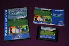 PEBBLE BEACH GOLF LINKS  - T&E Soft/Sega - Jeu Golf Mega Drive PAL