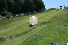NEW 2.5M*1.9M Inflatable Zorb ball Zorbing Human Hamster ball Hydro Zorb 1.0MM