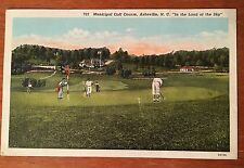 N90 Asheville NC North Carolina Golf Club Vintage PC
