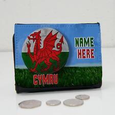 Bola del equipo de rugby de Gales Personalizado Cartera Papá Grandad de Hombre Muchachos Regalo SH275