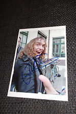 THE DARKNESS Justin Hawkins signed Autogramm auf 13x18 cm Foto InPerson LOOK